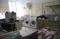 Pralnia hostelowa